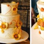 Fall Wedding Cakes with Flowers » Fall Themed Wedding Cakes – My Wedding Cakes