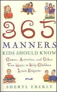 365 manner, learn etiquett, manner kid, books on manners, children learn