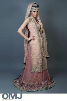 Teapink Pakistani bridal clothes