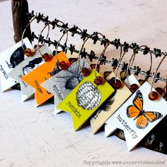 PaperVine: Halloween Party Glass Charms (Echo Park)