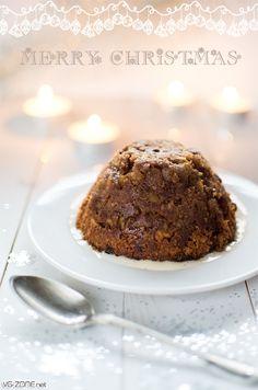 Christmas pudding vegan - VG-Zone | Recette végétalienne - Vegan recipe