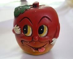 '50s chalkware apple bank, Passionate Kitsch, http://etsy.me/lY01VM