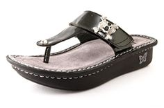 Alegria Carina Charcoal Sandal - on closeout for $59! | Alegria Shoe Shop #AlegriaShoes #sandals #closeouts