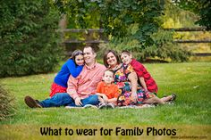 What To Wear For Family Photos | Petit Elefant