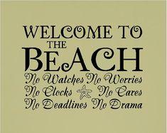 We like these rules!!  #beachrules #beachlife