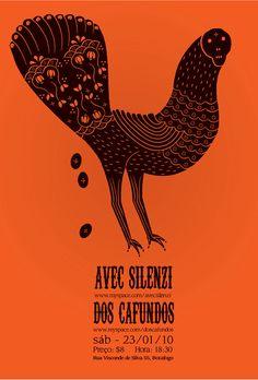 illustration,orange,poster,graphic design,Thiago Modesto