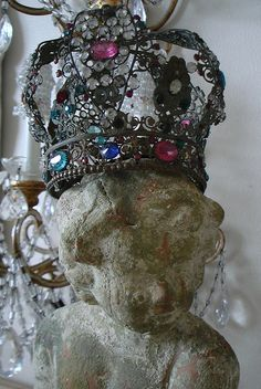 French Jeweled Crown