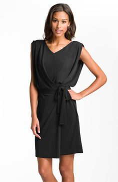 Suzi Chin for Maggy Boutique Draped Jersey Faux Wrap Dress (Online Exclusive) available at #Nordstrom