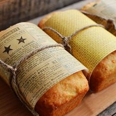 DIY lemon loaf with zucchini favors.