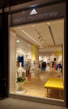 stella mccartney, flagship store, london, school fashion, designer handbags, fashion blogs, adida, road, retail stores
