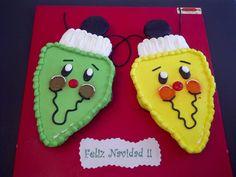 Cupcake Cakes - Christmas Lights