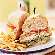 catfish sandwich, splendid seafood, finest fooddrink, ovenfri catfish, glorious fooddrink, seafoodfish recip, sandwich recipes, oven fri, master fooddrink