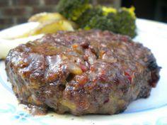 dinner, chees stuf, grilled stuffed burgers, stuffed hamburger recipes, cheddar stuf