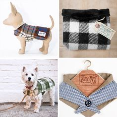 Billy Wolf Fine K9 Coatery's dog jackets are handmade in the USA from vintage, dead stock fabrics. They're sophisticated and rootsy at the same time — designer Lyndsey Drago honed her skills at Ralph Lauren and Timberland — and their velcro closures make them easy to put on and remove.