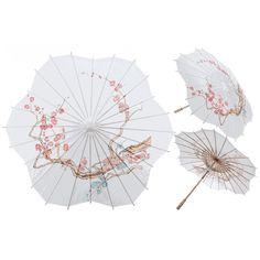 shape paper, idea, blossom design, cherri blossom, papers, cherries, scallop shape, paper parasol, cherry blossoms