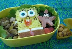 make lunches for the kids for the food....ready to pass out when guest arrive bento idea, bento box, games, foods, bobs, boxes, box lunch, kids, lunch bento