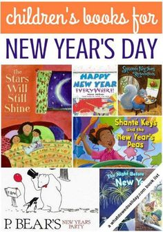 Love these picture books about New Year's for children! Especially The Stars Will Still Shine. (great for year 'round!)