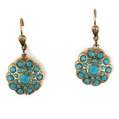 Blue Crystal Earring >> So pretty!