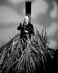 Alfred Hitchcock está que arde