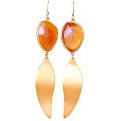 Faceted Carnelian an