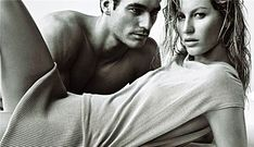 'I'm not going to get on with anyone who takes it for granted or thinks they're someone special,' said David, pictured modelling alongside Gisele Bundchen