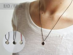UNDER THIS MOON / Necklace  Personalized lunar phase by gemagenta, €25.00