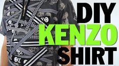 DIY KENZO INSPIRED TSHIRT (NO SEW) Threadbanger