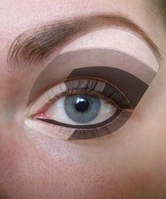 How to apply eyeshadow #eyeshadow #fashion