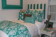 2014 teal ikat dorm room  bedding decor2urdoor new release perfect dorm room colors dorm room decor