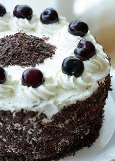 Black Forest Cake aka The Drunken Cherry Cake