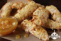 pineapples, coconuts, sauces, food, pineappl sweet, sour sauc, chicken fingers, recip, coconut chicken