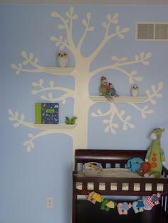 Nursery Tree I got from Pinterest