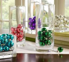 Decorating with Vases--Christmas