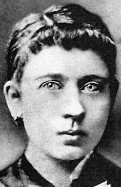 Klara Hitler, Hitler's mother.  Click on her picture for a good read about Hitler's life.