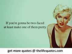 marilyn monroe quotes, card