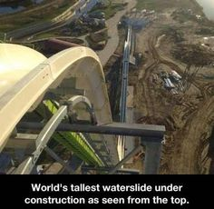 Funny images of the week -55 pics- World's Tallest Water Slide ...
