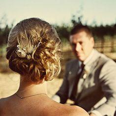 Brides Magazine: The 10 Best Wedding Hairstyles of 2010 : Wedding Hairstyle Gallery