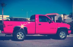 Trucks can be pretty too!