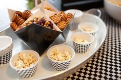 love this as a way to serve snacks - Spaceships and Laser Beams