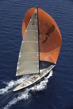 F-Class sailing yacht 'Firefly'