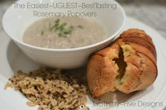 The Easiest, Ugliest and Best Tasting Rosemary Popovers