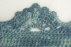 Gorgeous edging! nice edg, fun craft, pattern, gorgeous edg, book review, stitch, crochet edgings, fleece blankets, diy idea