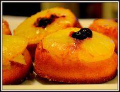Mini Pineapple Upside Down Cakes ~ Food Fun Freak