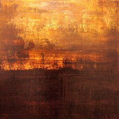 Abstract Painting by Ken Browne abstract paint, soleil couchant, ken brown