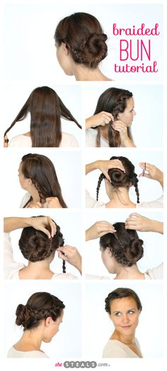Hairstyles For A Lyrical Dance : Ballet bun tutorial on buns stage