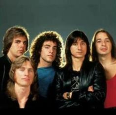 Journey. Before Steven Perry left the band.Still LOVE so many of their songs.
