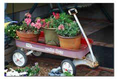 Love yard art!
