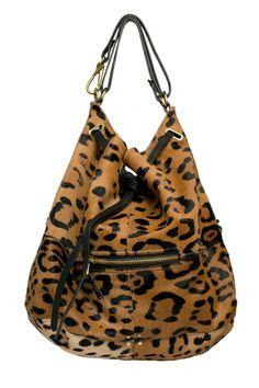 Alaine Leopard Bag