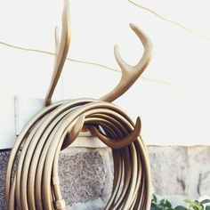 Reindeer Hose Wall Mount by Garden Glory http://fancy.to/2slhmc...