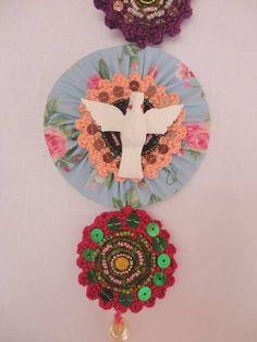 Relicário Espírito Santo | Terralinda Atelier | 1E94BC - Elo7